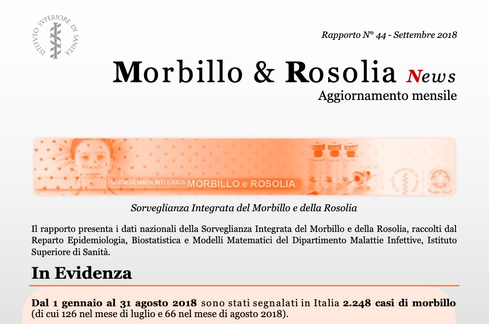 19l25 report morbillo 2018