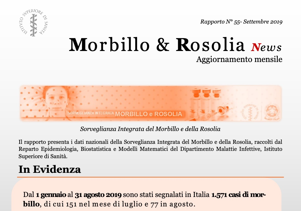 19l25 report morbillo 2019